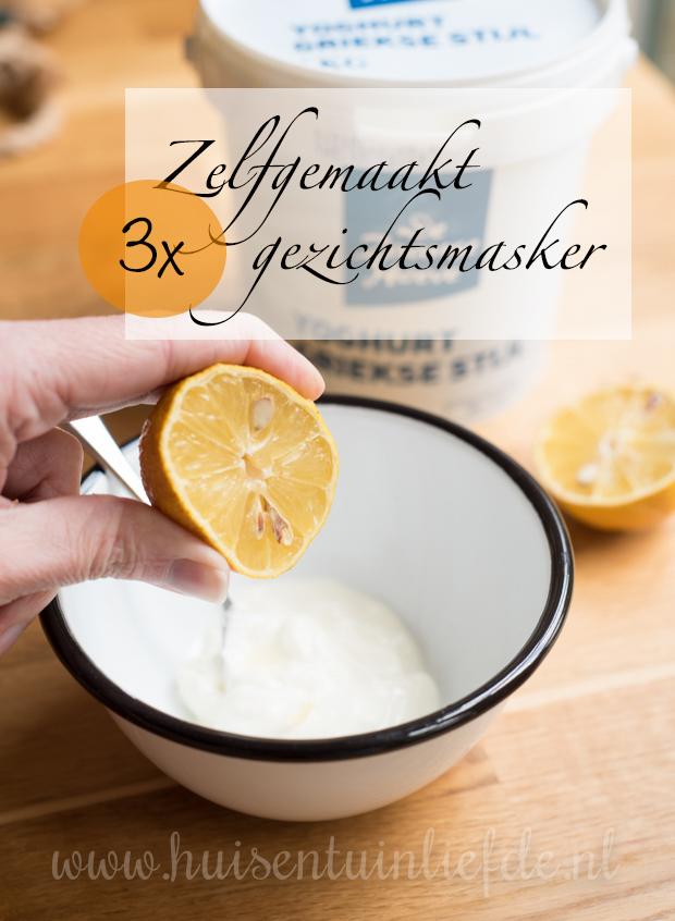 3x zelfgemaakt gezichtsmasker