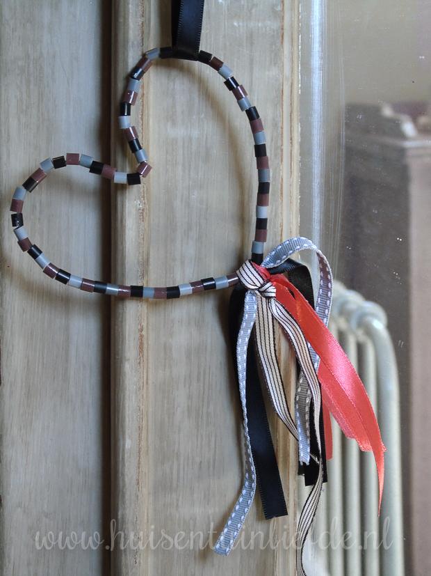 DIY: Deur- of sleutelhanger van strijkkralen