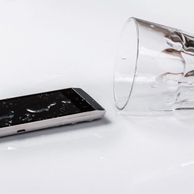 Help! Mijn telefoon is verdronken!