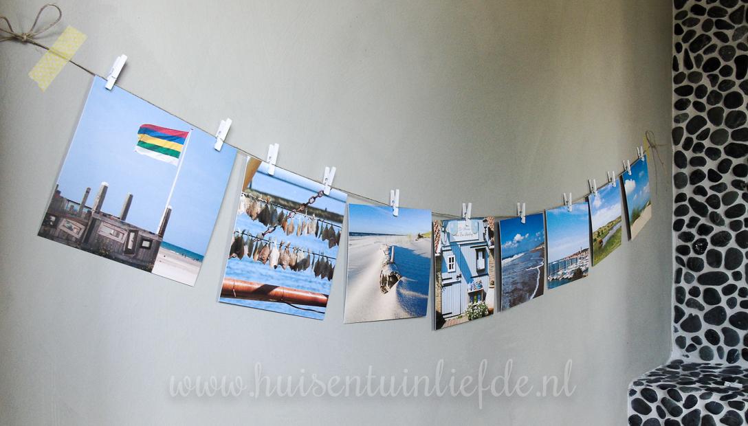 Stylingtip: maak een fotolijn van je vakantiefoto's